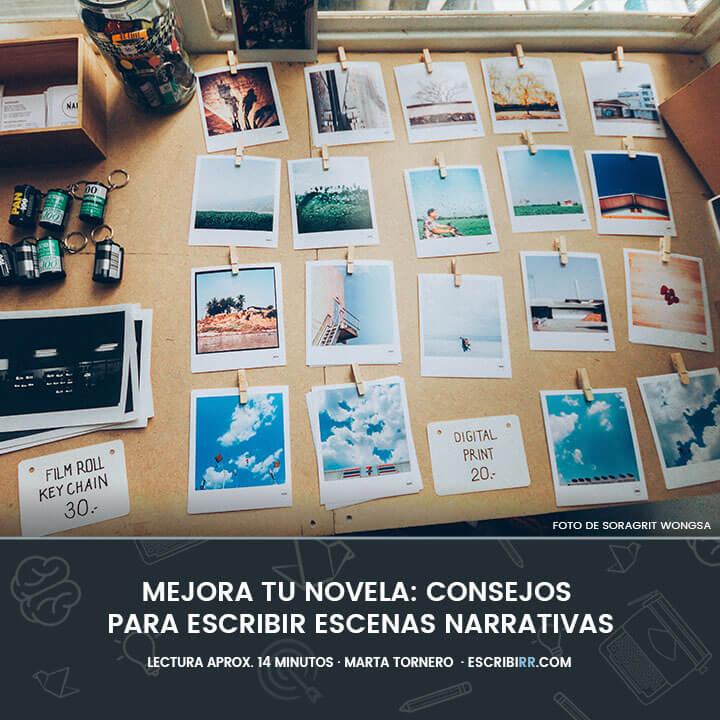 consejos escribir escenas narrativas