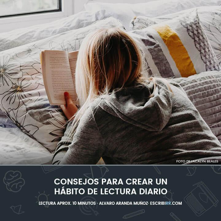 consejos habito de lectura diario