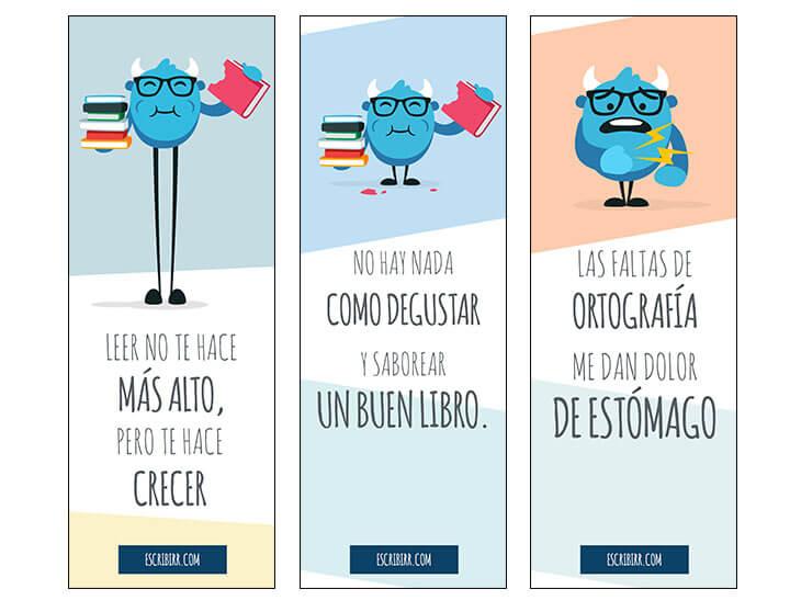 Amazon Com Separadores De Libros Productos De Oficina