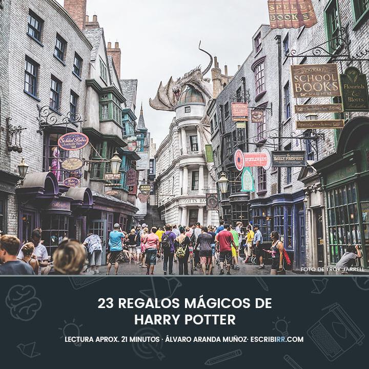 regalo de Harry Potter