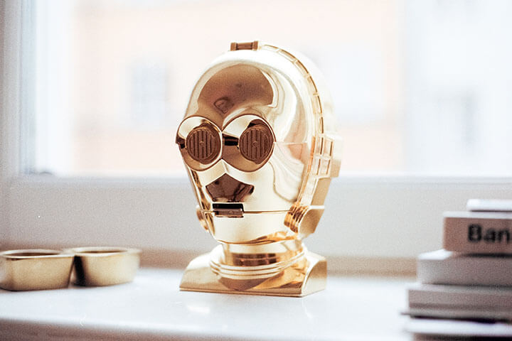 crear personaje robot