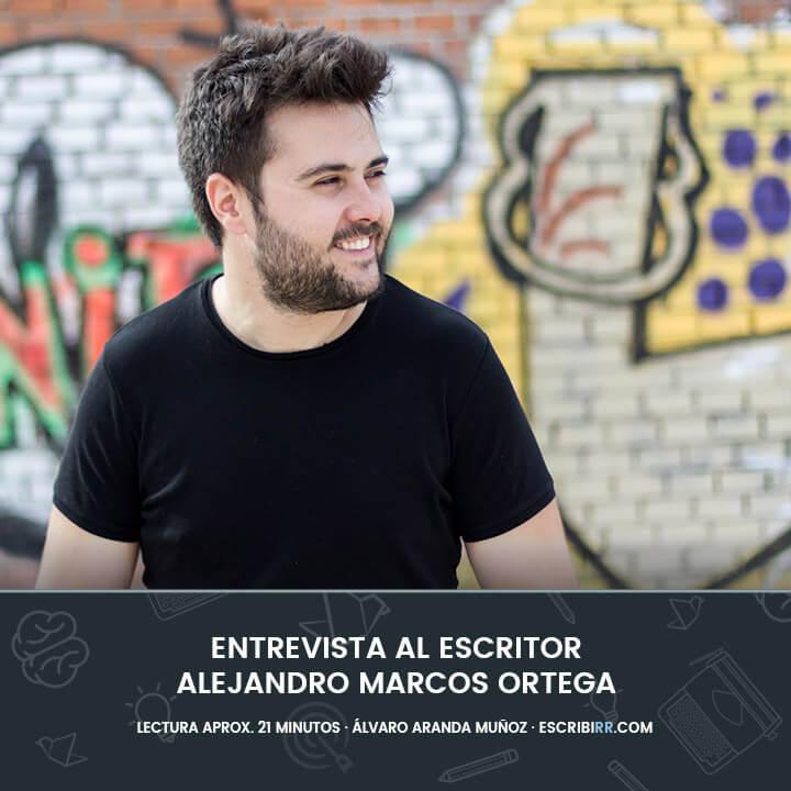 entrevista al escritor alejandro marcos ortega